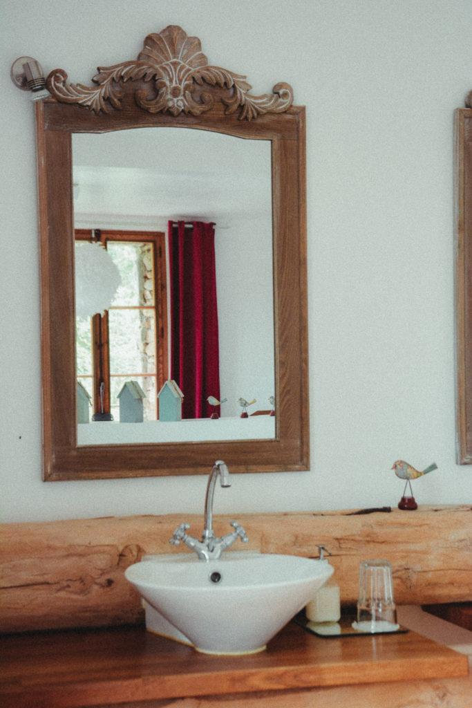 Salle de bain luxe haut de gamme chambre d'hote auvergne loire