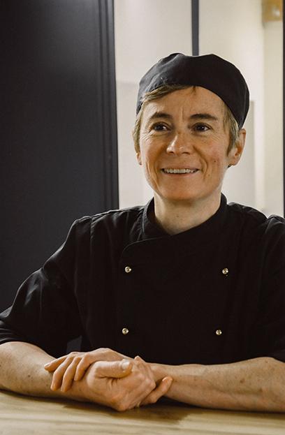 Florence Bonthoux chef patissière aux délices de lavoute