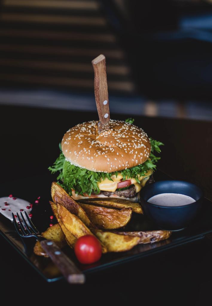 Tous les vendredi, burger party !