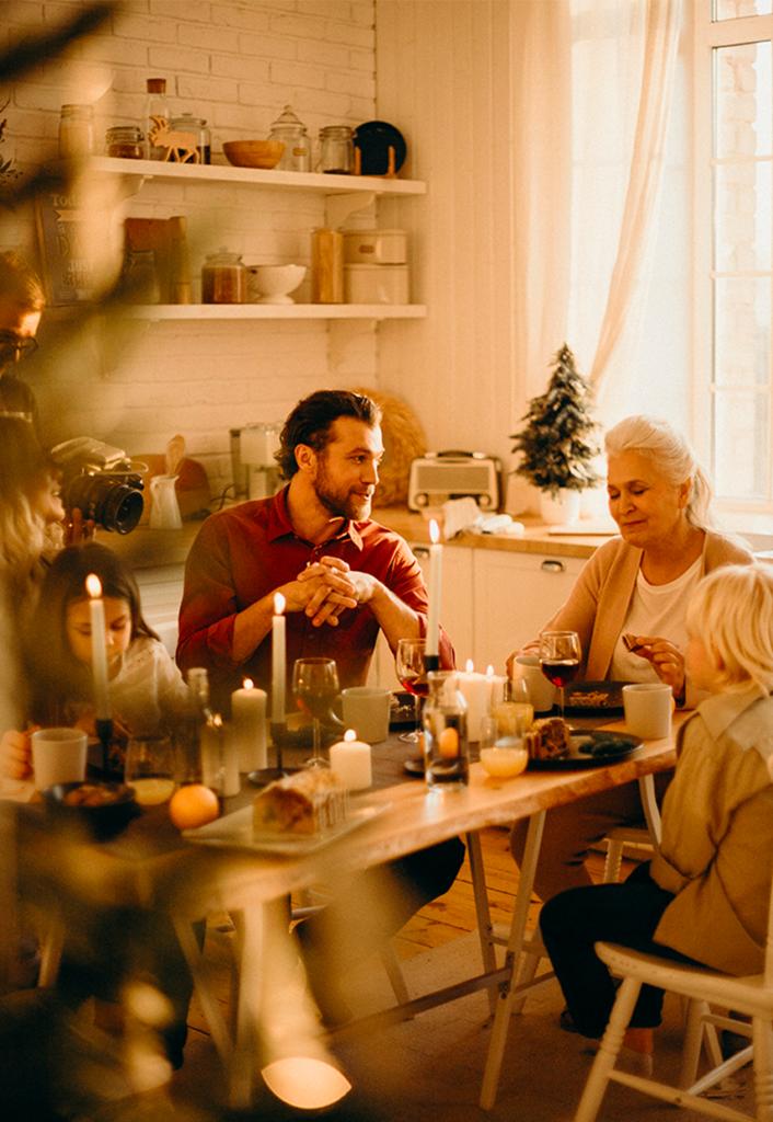 Commandez votre repas de noel pour fêter noel en famille !